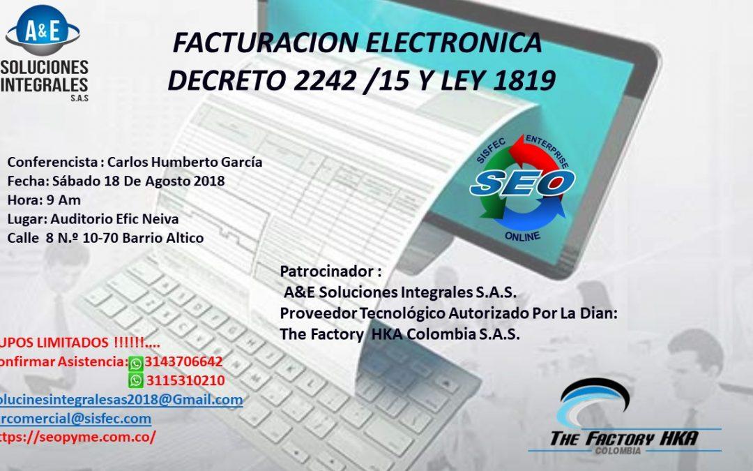 Conferencia Facturación Electrónica
